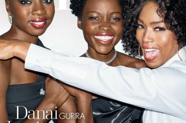 Lupita Nyong'o, Danai Gurira & Angela Bassett Cover Elle USA #WomenInHollywood issue!